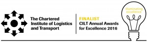 Finalist in CILT(UK) Annual Awards for Excellence - Warehouse Operations Category