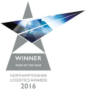 Northamptonshire Logistics Awards Team of the Year 2016